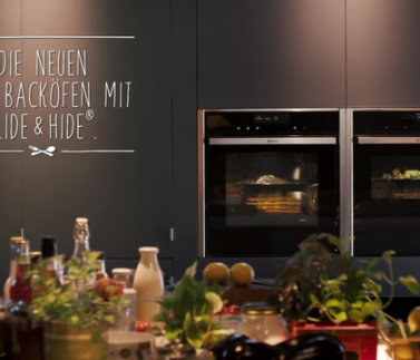 Neff Backofen mit Slide & Hide